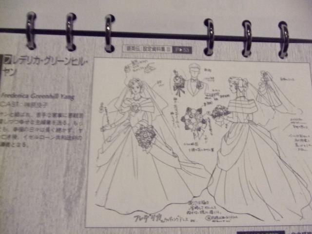 銀河英雄伝説 LDボックス同梱設定資料集 1~4期まとめて_画像6