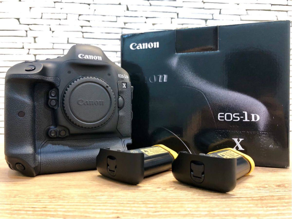 送料無料!極美品!canon EOS 1DX ボディ バッテリーもう一個付き!