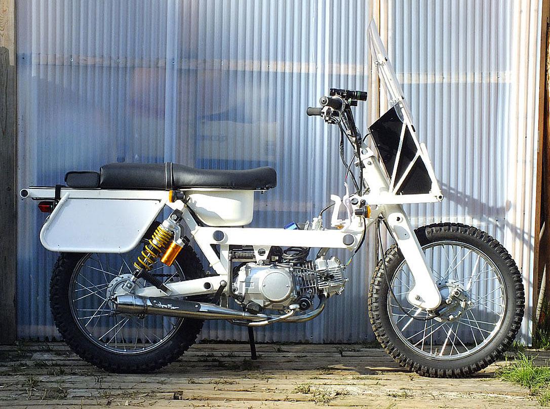 「Super Boo (125cc)試作モデル在庫放出(ジャンク扱いでヨロシクお願いいたします)!」の画像2