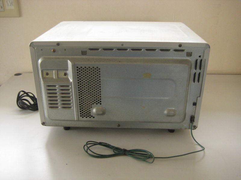 東芝製 電子レンジ ER-C03D(HS)  2001年製 動作品_画像5