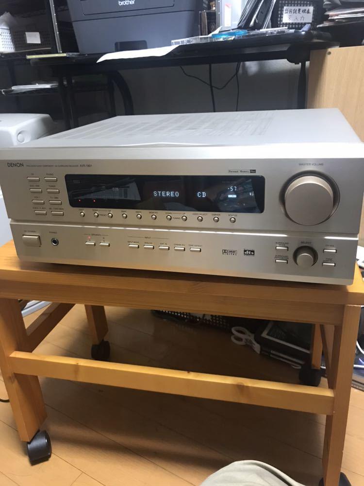 【送料無料】オーディオ アンプ DENON AVR-1801 音出し確認OK 中古