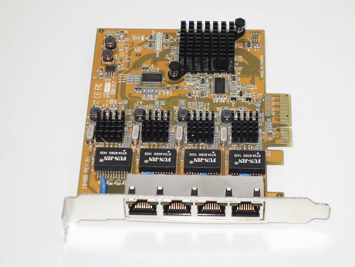 [ギガビット対応/4Port PCIe接続] StarTech.com ST1000SPEX42 PCI-E x4接続 [Windows7,8,10 32/64bit対応]_画像4