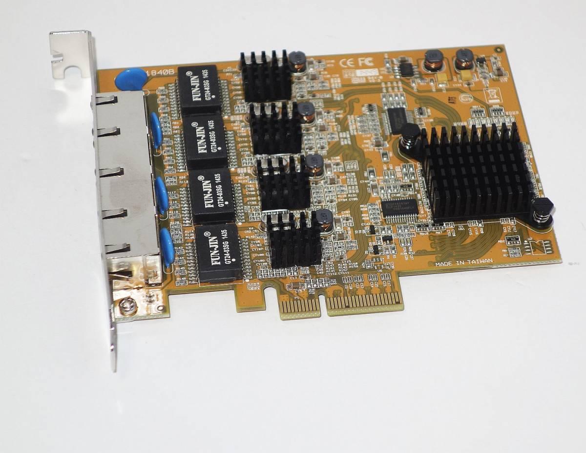 [ギガビット対応/4Port PCIe接続] StarTech.com ST1000SPEX42 PCI-E x4接続 [Windows7,8,10 32/64bit対応]_画像5