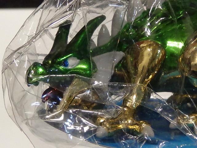 ドラゴン ドラゴンクエスト メタリックモンスターズギャラリー スクウェア エニックス 未使用 金属 置物 リアル 龍 希少 フィギュア_画像3