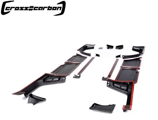 FRPタイプ◆ベンツ W463 Gクラスゲレンデ2013~18モデル用ブラバスタイルカーボンワイドボディーキット23点/G300/G350/G500/G55/G63/BRABU_画像8
