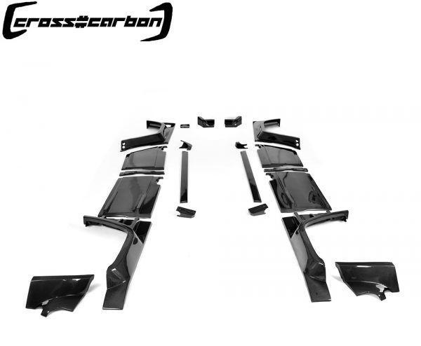 FRPタイプ◆ベンツ W463 Gクラスゲレンデ2013~18モデル用ブラバスタイルカーボンワイドボディーキット23点/G300/G350/G500/G55/G63/BRABU_画像2