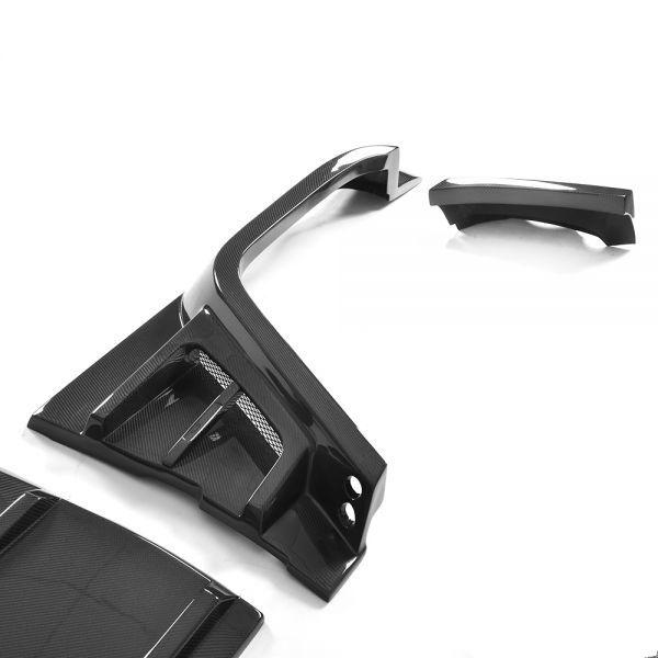 FRPタイプ◆ベンツ W463 Gクラスゲレンデ2013~18モデル用ブラバスタイルカーボンワイドボディーキット23点/G300/G350/G500/G55/G63/BRABU_画像5