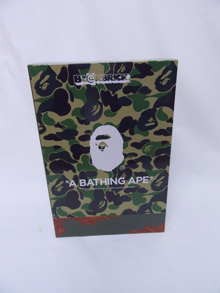 国内正規品 新品 READYMADE × A BATHING APE BE@RBRICK 100% & 400%セット レディメイド