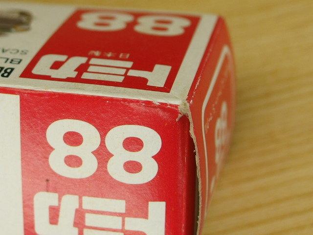 トミカ 日本製 空箱 #88 BLMC ミニ クーパーS マークⅢ ミニクーパー_画像6