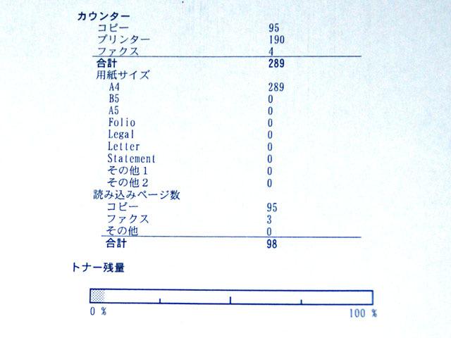 ★京セラ★A4 モノクロ デジタル 複合機★卓上1段★使用289枚★ジャンク★_画像2