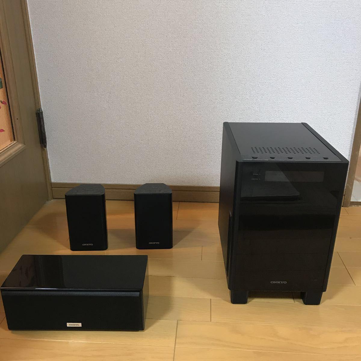 ONKYO オンキョー スピーカー 3.1ch HTX-22HDX D-108C【おまけ付き】