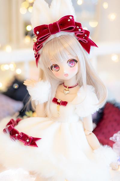 DDH-01 カスタムヘッド ノーマル肌 ~SnowPrincess Primula~(難あり)RonshukaCouture_画像3