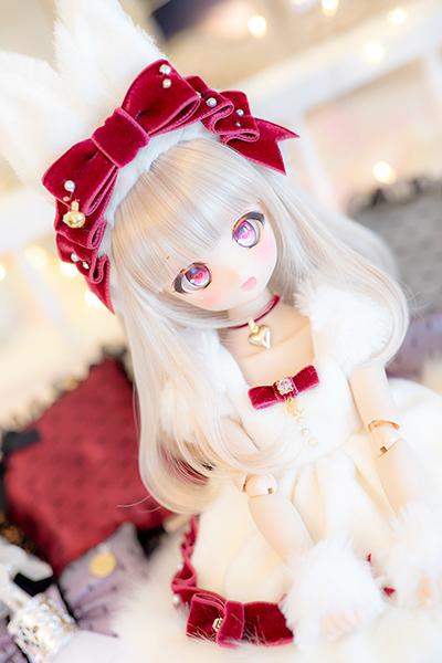 DDH-01 カスタムヘッド ノーマル肌 ~SnowPrincess Primula~(難あり)RonshukaCouture_画像8