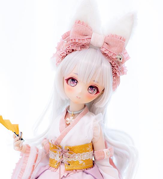 DDH-01 カスタムヘッド ノーマル肌 ~秋桜 狐姫~ RonshukaCouture_画像4