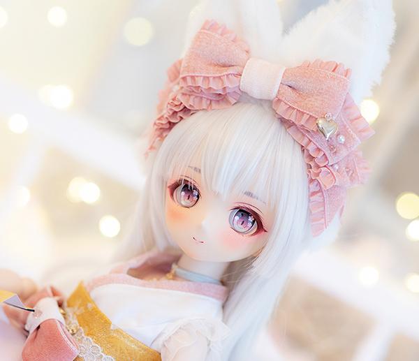 DDH-01 カスタムヘッド ノーマル肌 ~秋桜 狐姫~ RonshukaCouture_画像2