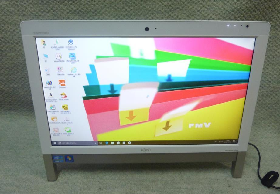 FUJITSU 富士通 FH56/GD ★ Core i7-2670QM 4コア/メモリ8GB/HDD2TB/Blu-ray/office/20型/地デジ/Win 10/Windows 7 Home Premium/リカバリ