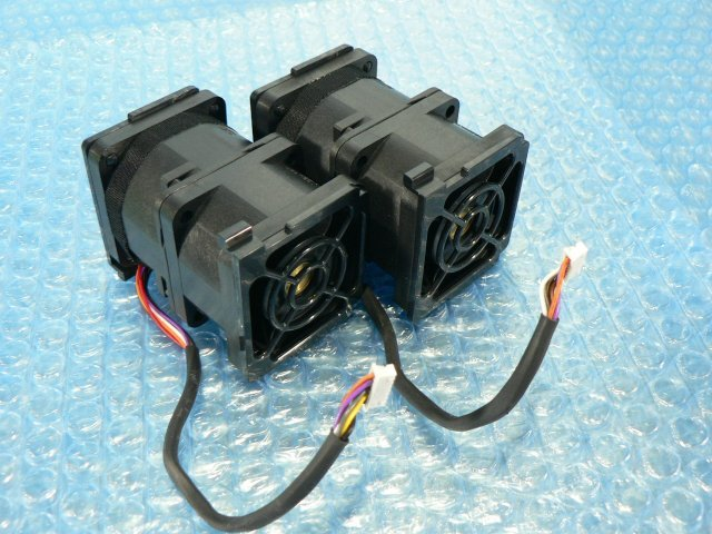 1ESY // SanAce40 9CRN0412P5J003 12V 1.0A 2個セット/ 4cmファン // HITACHI HA8000/RS210 AM1 取外 (NEC R120d-1E 類似) // 在庫9[11]_画像5