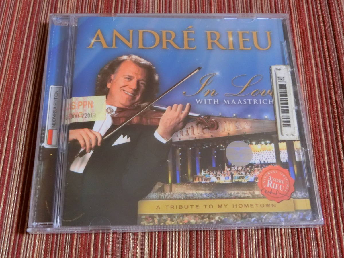 ■P8■アンドレ・リュー■ANDRE RIEU■In Love With Maastricht-a Tribute to My Hometown■輸入盤■新品■日本未発売■激レア■_画像1