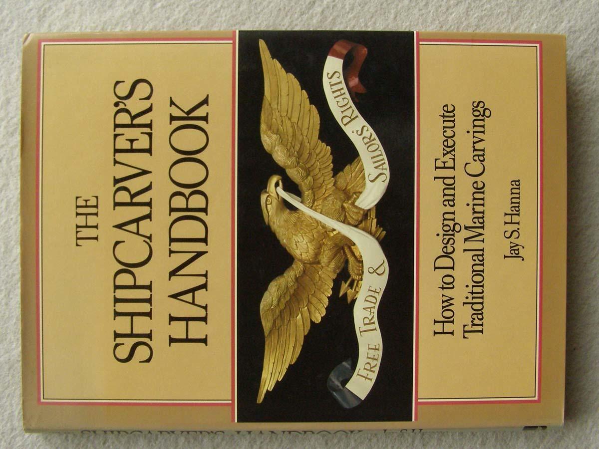 洋書 The Shipcarvers Handbook 彫刻 フィギュアヘッド船首像_画像1