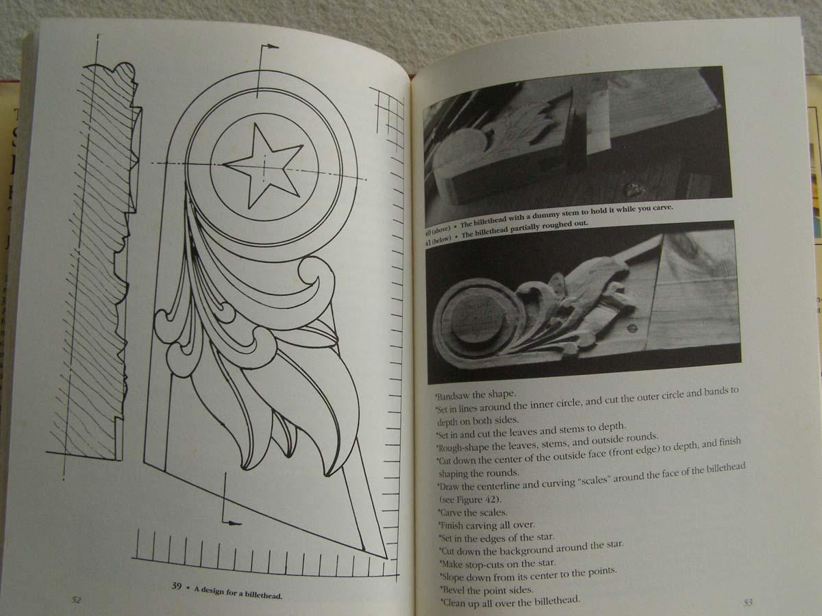 洋書 The Shipcarvers Handbook 彫刻 フィギュアヘッド船首像_画像7