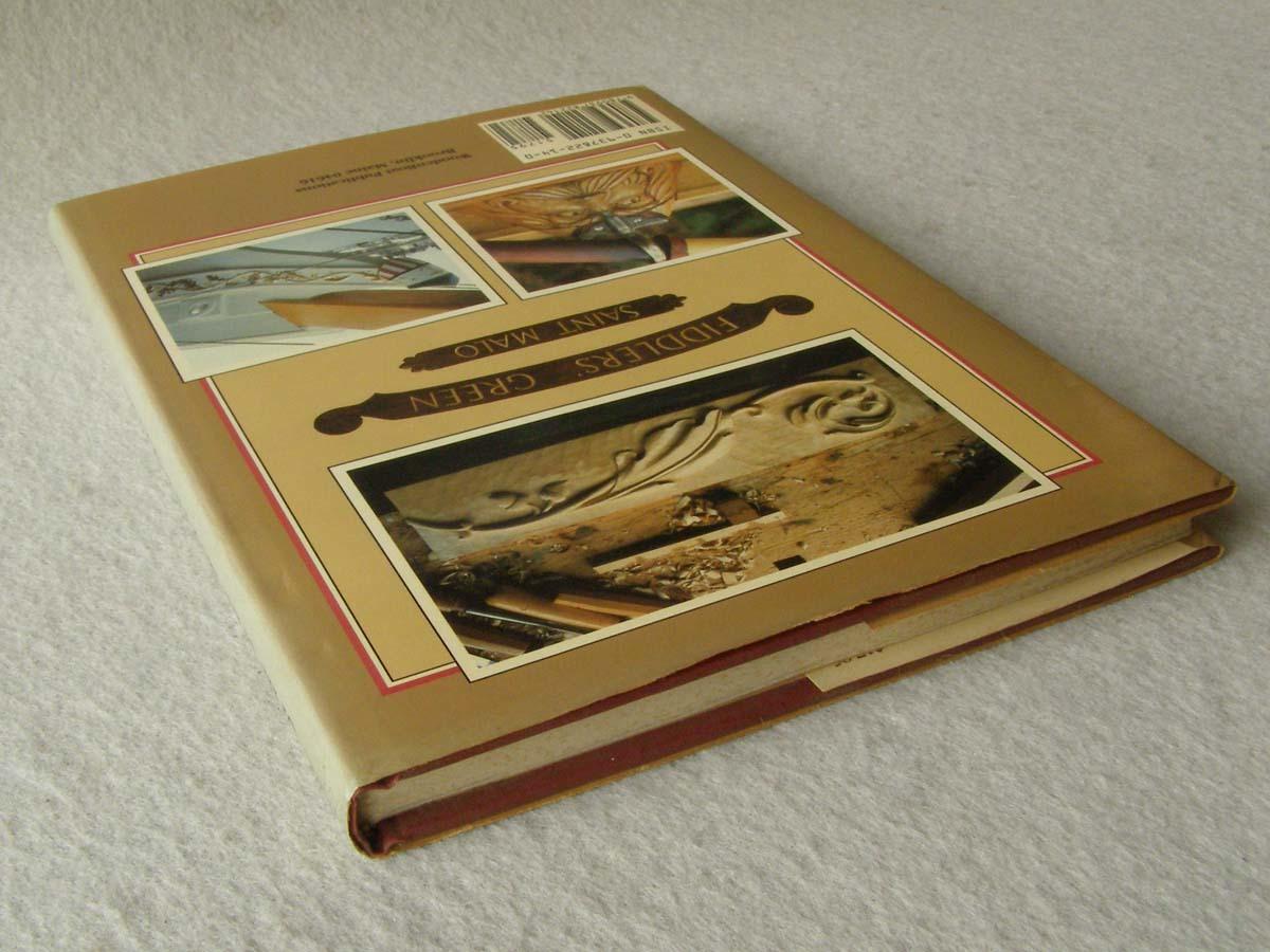 洋書 The Shipcarvers Handbook 彫刻 フィギュアヘッド船首像_画像3