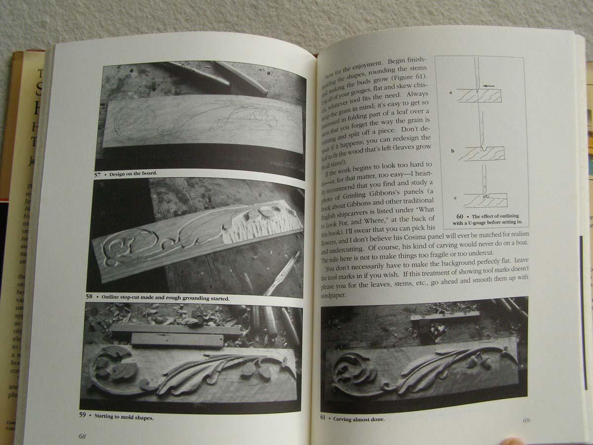 洋書 The Shipcarvers Handbook 彫刻 フィギュアヘッド船首像_画像5