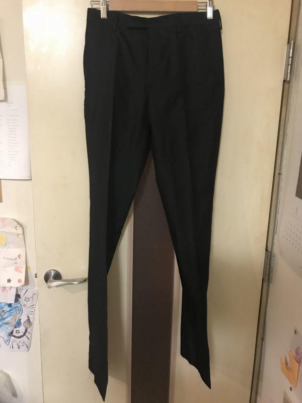 08 Dior homme ディオールオム セットアップ スーツ ジャケット メンズ シルク混合_画像3
