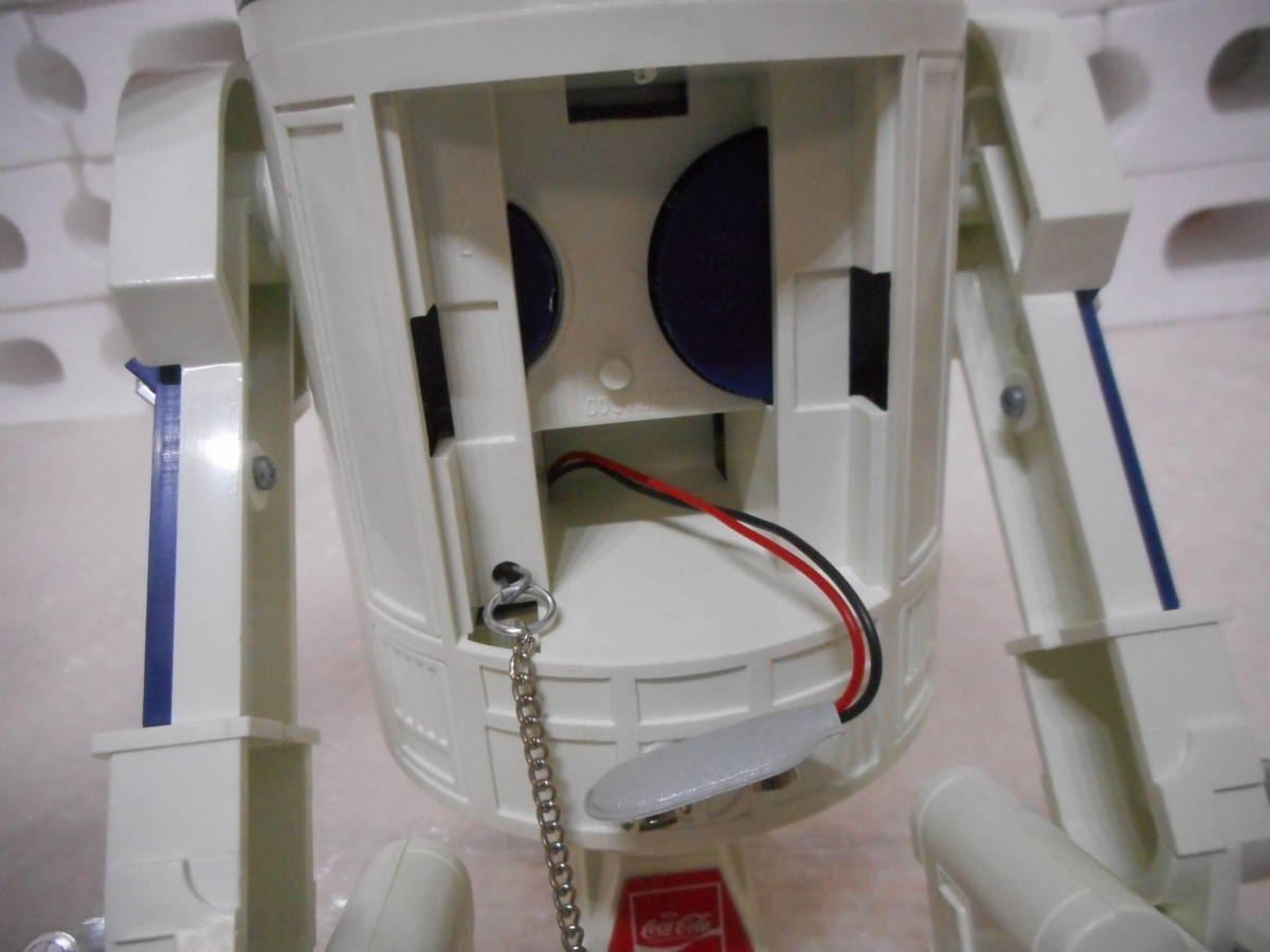 本体のみ スターウォーズ R2-D2 AMラジオ コカコーラ懸賞当選品_画像3