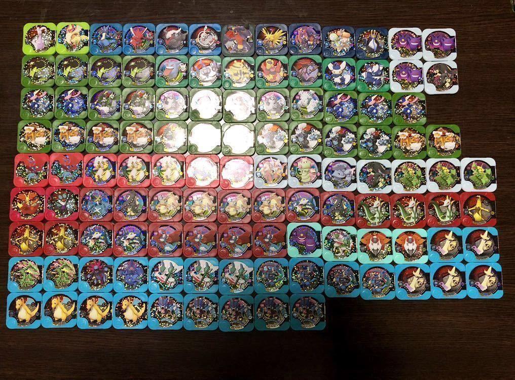 ポケモントレッタ レジェンド・マスター・シークレット39枚他メタリック仕様含む大量200枚まとめ売り_画像4