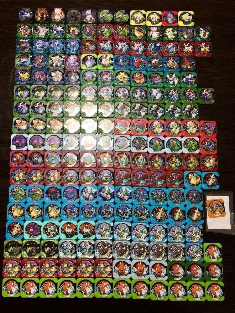 ポケモントレッタ レジェンド・マスター・シークレット39枚他メタリック仕様含む大量200枚まとめ売り