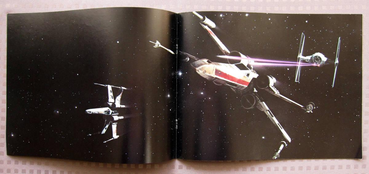 『スター・ウォーズ』1977年米国初公開「初版」パンフレット ★ 映画史において価値が高い貴重な商品を手放します No.2/8 SW_画像4