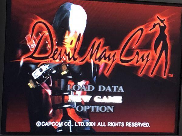 PS2 ソフト デビル メイ クライ 送料無料 USED プレステ 2 Devil May Cry_画像4
