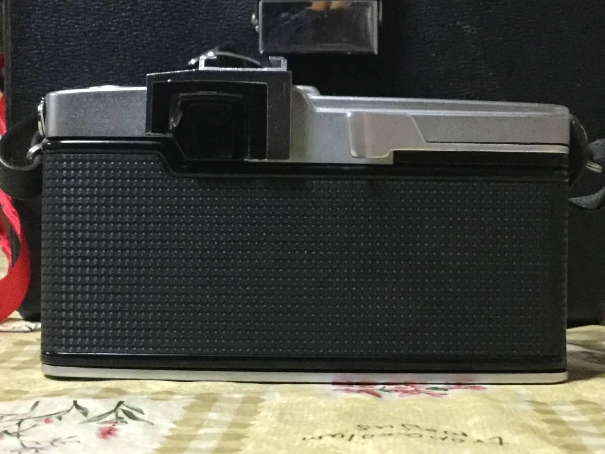 OLYMPUSーPEN F レンズ3セット カメラケース付 オリンパス 一眼カメラ_画像8