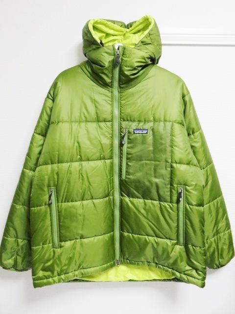 04年製 patagonia パタゴニア DAS PARKA ダスパーカー L 緑 スプラウトグリーン 中綿 ナイロン 84097F4_画像1