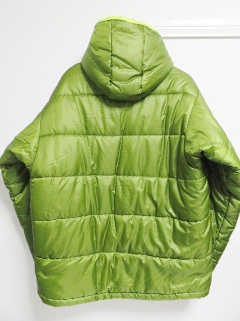 04年製 patagonia パタゴニア DAS PARKA ダスパーカー L 緑 スプラウトグリーン 中綿 ナイロン 84097F4_画像2
