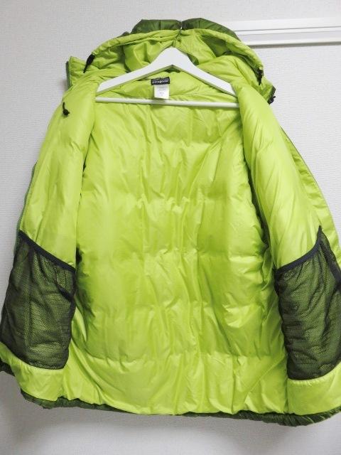 04年製 patagonia パタゴニア DAS PARKA ダスパーカー L 緑 スプラウトグリーン 中綿 ナイロン 84097F4_画像3