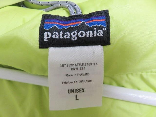 04年製 patagonia パタゴニア DAS PARKA ダスパーカー L 緑 スプラウトグリーン 中綿 ナイロン 84097F4_画像4