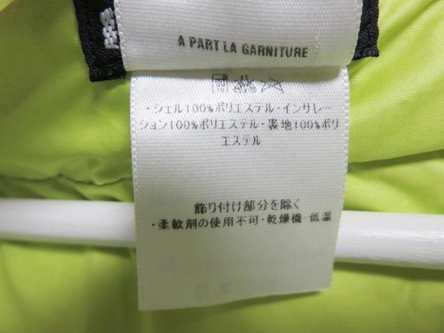 04年製 patagonia パタゴニア DAS PARKA ダスパーカー L 緑 スプラウトグリーン 中綿 ナイロン 84097F4_画像5