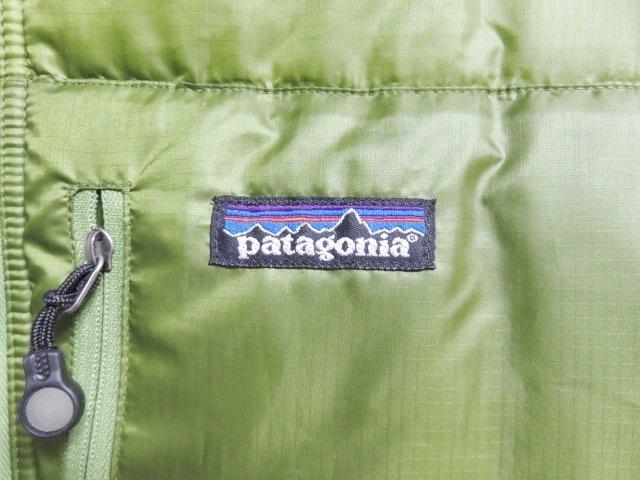 04年製 patagonia パタゴニア DAS PARKA ダスパーカー L 緑 スプラウトグリーン 中綿 ナイロン 84097F4_画像9