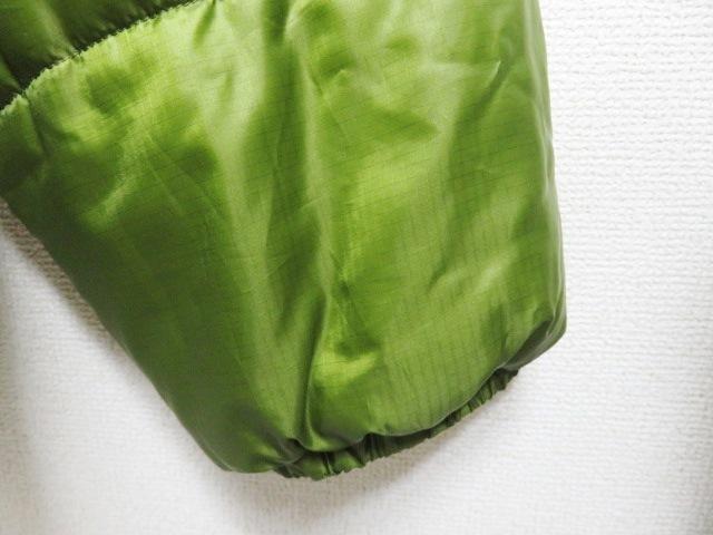 04年製 patagonia パタゴニア DAS PARKA ダスパーカー L 緑 スプラウトグリーン 中綿 ナイロン 84097F4_画像6