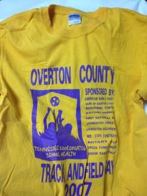 OvertonCounty/GILDAN(USA)ビンテージTシャツ