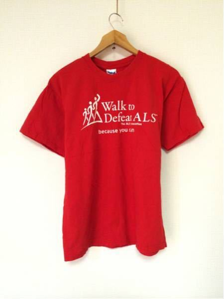 DefeatALS/GILDAN(USA)ビンテージTシャツ