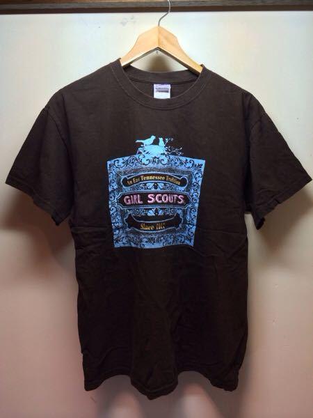 GirlScouts/GILDAN(USA)ビンテージTシャツ