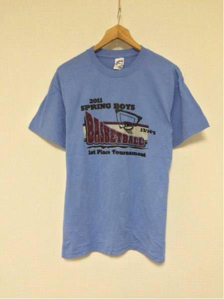 S.B.BASKETBALL/GILDAN(USA)ビンテージTシャツ