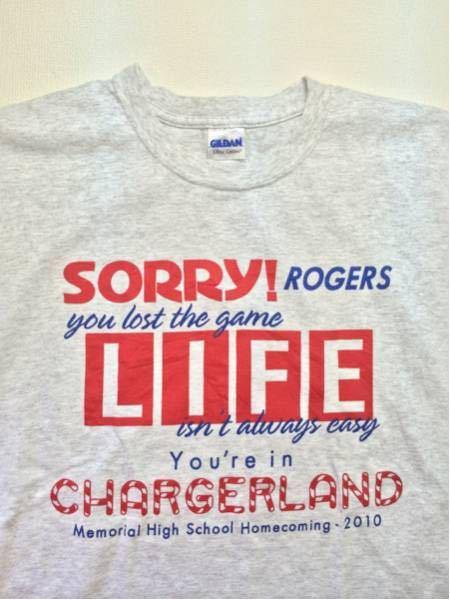 CHARGERLAND/GILDAN(USA)ビンテージTシャツ