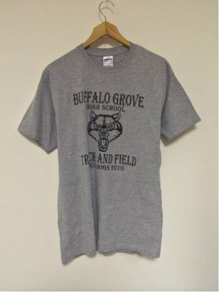 BuffaloGroveT&F/GILDAN(USA)ビンテージTシャツ