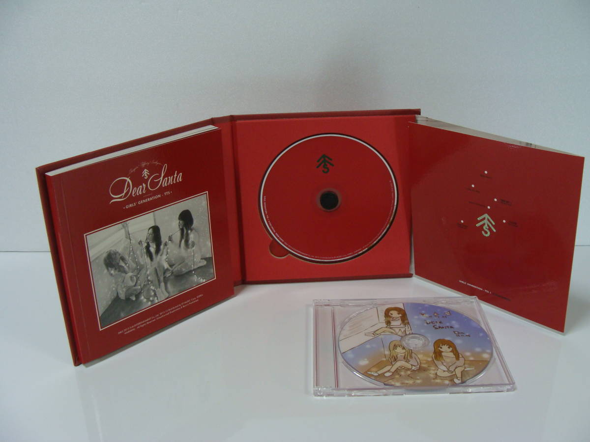【中古CD】 少女時代 TTS Dear Santa 【特典DVD付き】_画像3
