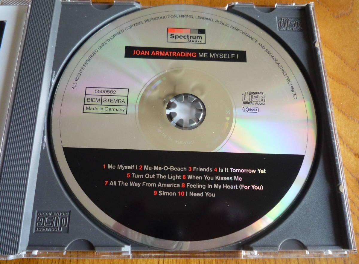 ■【CD/美品】 JOAN ARMATRADING - ME MYSELF I