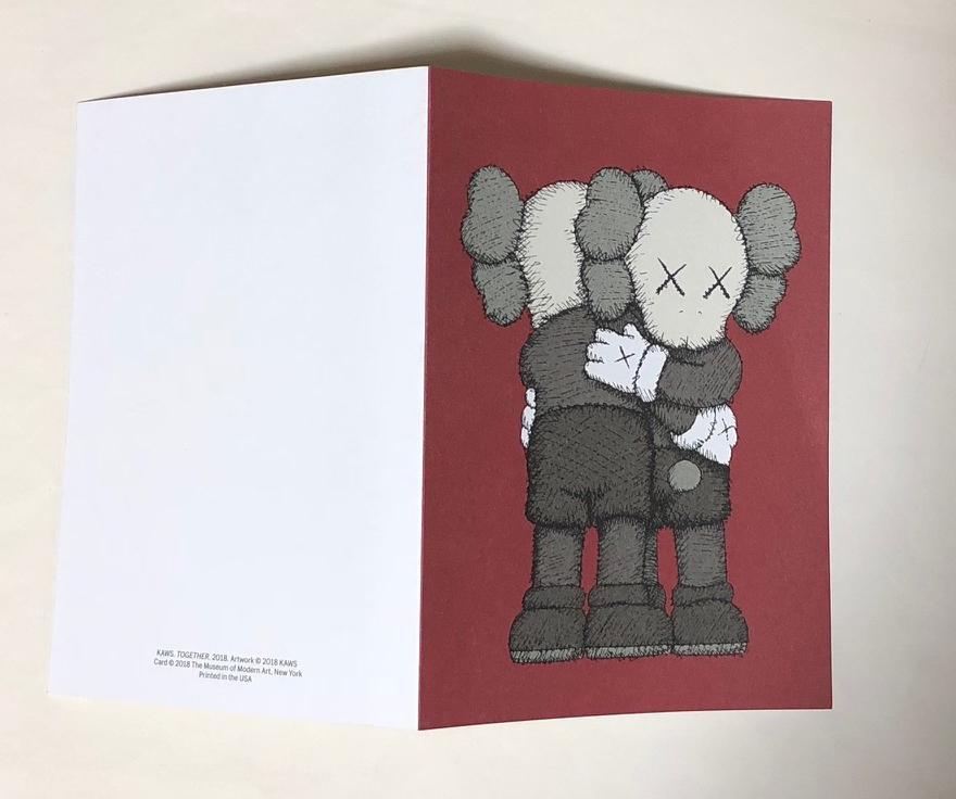 MoMA × KAWS クリスマスカード 2018 6枚セット/未使用_画像2