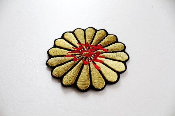 送料無料 菊燕 10cm 刺繍 ワッペン 東京 ヤクルト スワローズ 応援歌 ユニホーム に